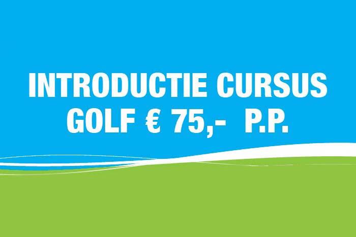 Introductiecursus golf