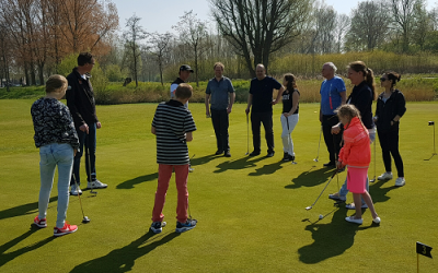 Golflessen voor jongeren