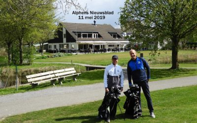 Alphens Nieuwsblad: 'Golfen is vooral veel plezier hebben.'
